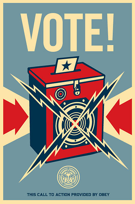 Illustration © 2008 Shepard Fairey / Obey Giant